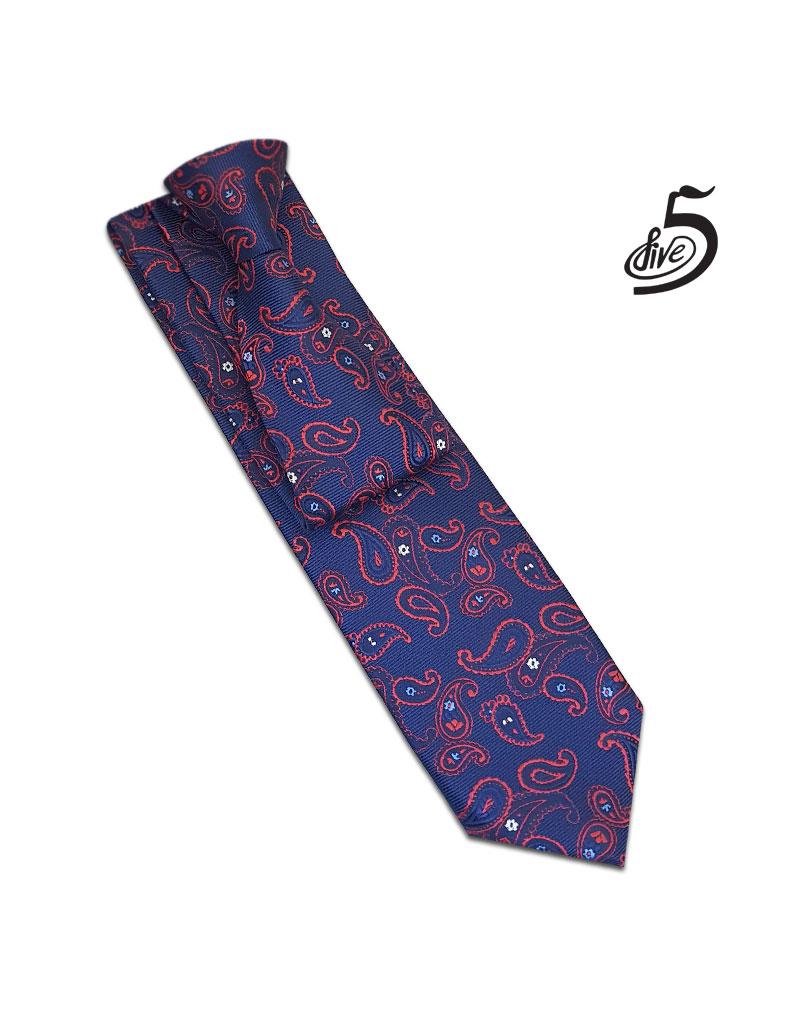 کراوات فایو طرح ترمه مدل 14012197