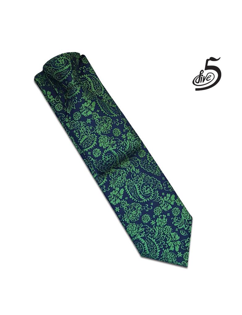کراوات فایو طرح ترمه مدل 140121109